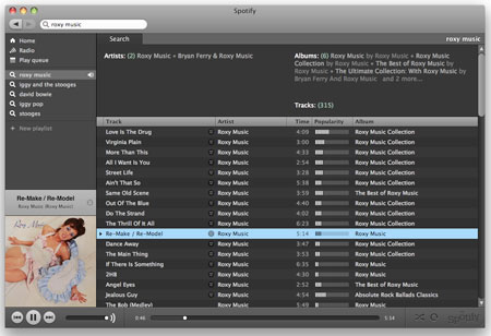 spotify music service