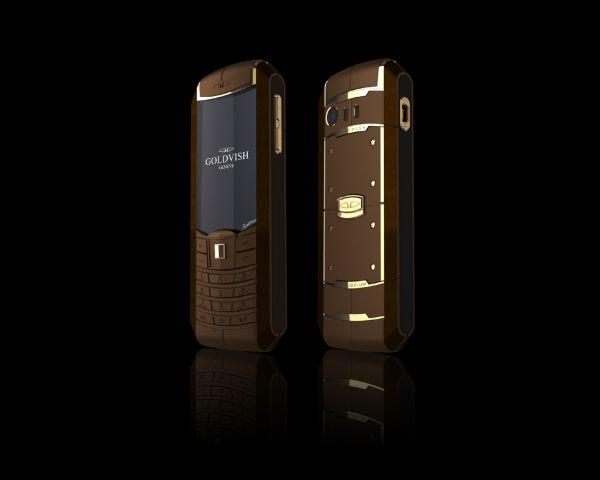 Goldvish Equilibrium Luxury Mobile Phone